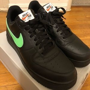 Nike Air Force 1 Swoosh Pack All Star '07 (Black)